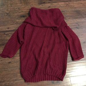 UMGEE SZ MED BURGUNDY sweater